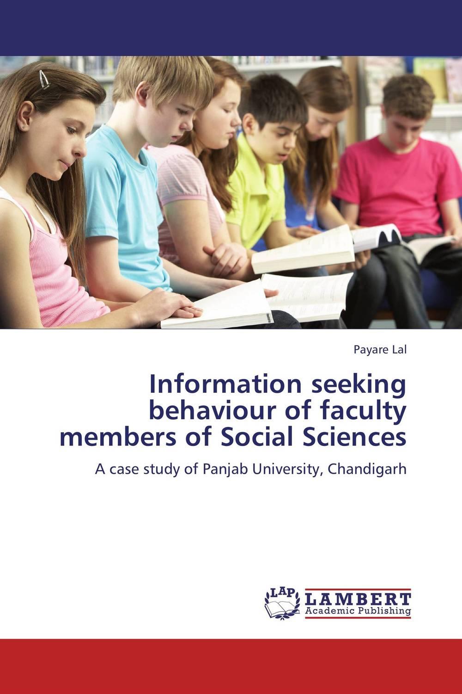 Information seeking behaviour of faculty members of Social Sciences information