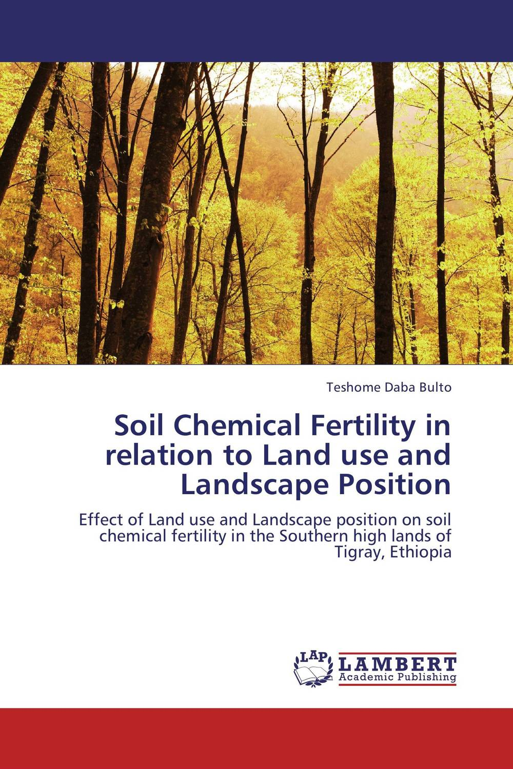 Soil Chemical Fertility in relation to Land use and Landscape Position land of savagery land of promise – the european image of the american