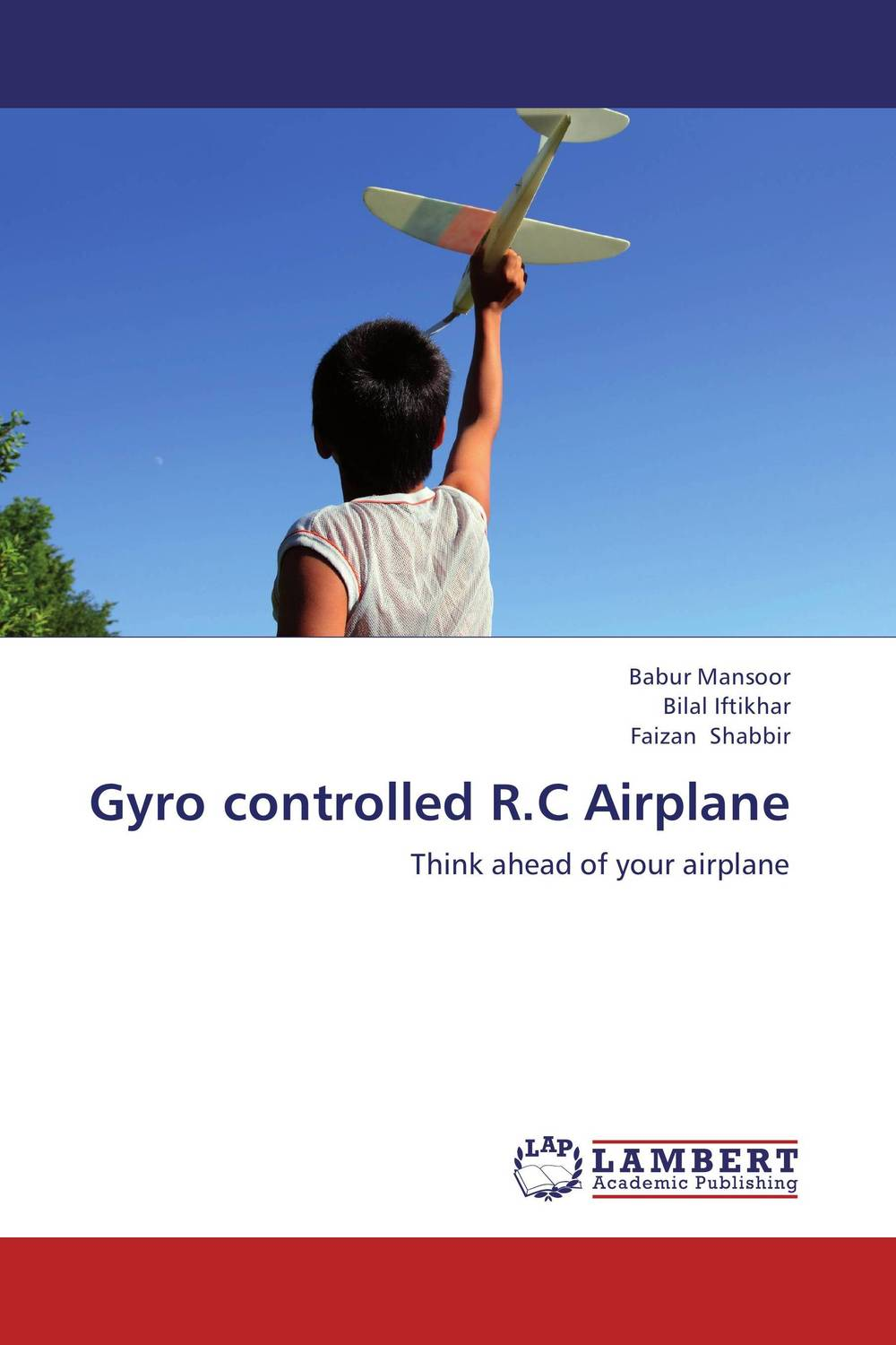 Gyro controlled R.C Airplane microgear radio controlled rc grasshopper flying in the air