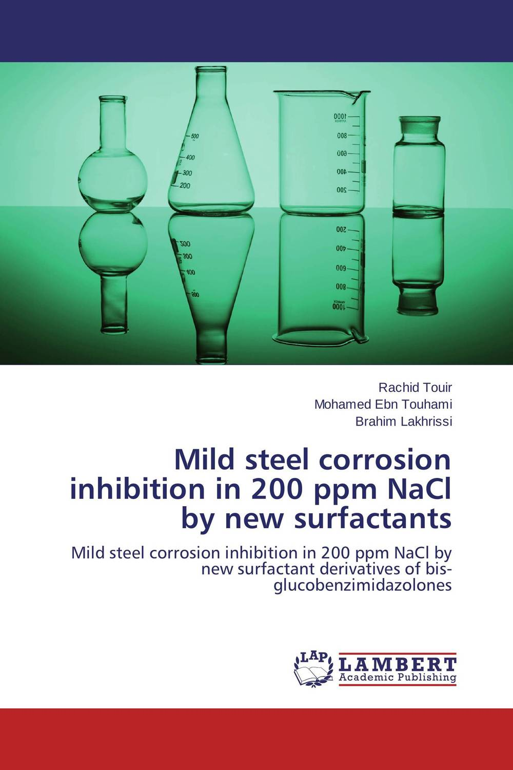 Mild steel corrosion inhibition in 200 ppm NaCl by new surfactants