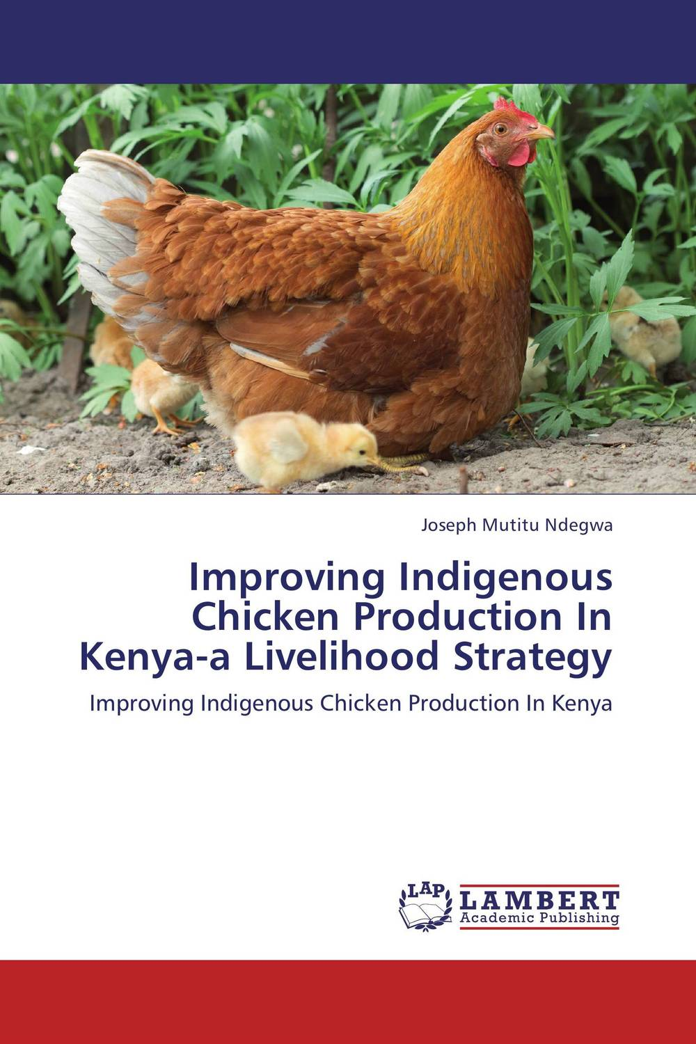 Improving Indigenous Chicken Production In Kenya-a Livelihood Strategy adoption of biogas in rural kenya