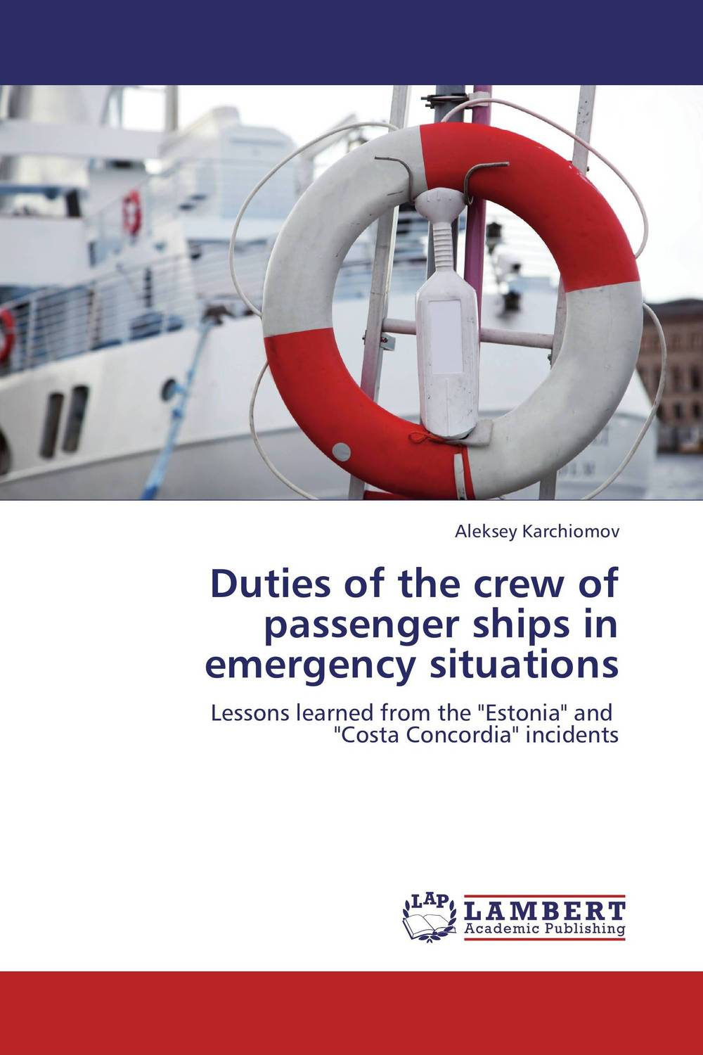 Duties of the crew of passenger ships in emergency situations maritime safety