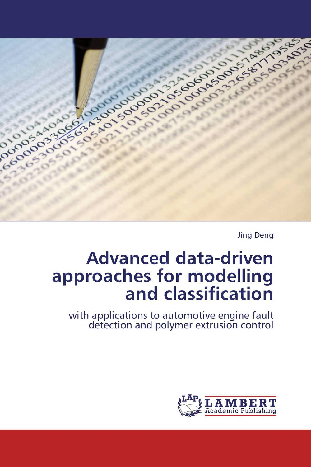 Advanced data-driven approaches for modelling and classification driven to distraction