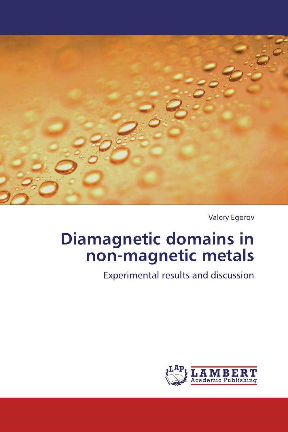 Diamagnetic domains in non-magnetic metals все цены