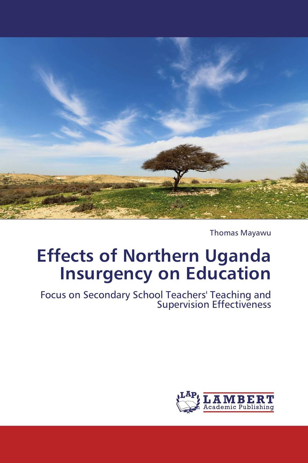 Effects of Northern Uganda Insurgency on Education an evaluation of the role of csos in promotion of upe uganda