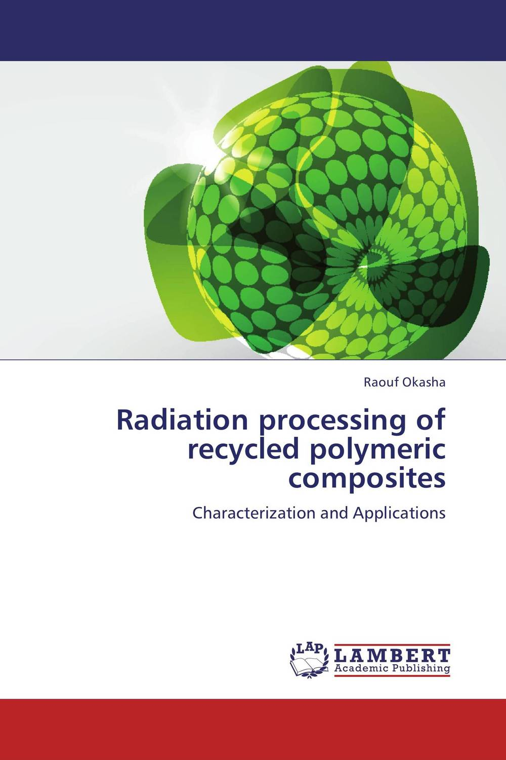 Radiation processing of recycled polymeric composites excipients used in the design of lipidic and polymeric microspheres