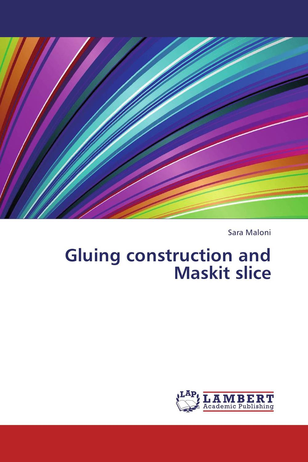 Gluing construction and Maskit slice discrete invariants of curves and surfaces