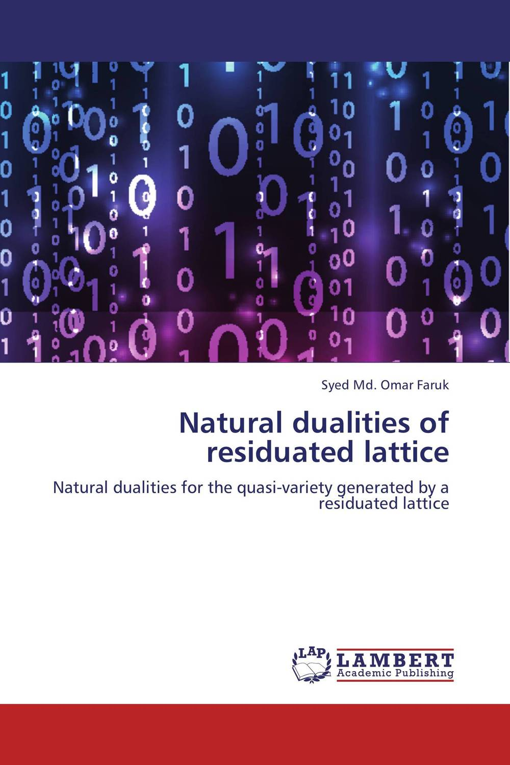Natural dualities of residuated lattice module amenability of banach algebras