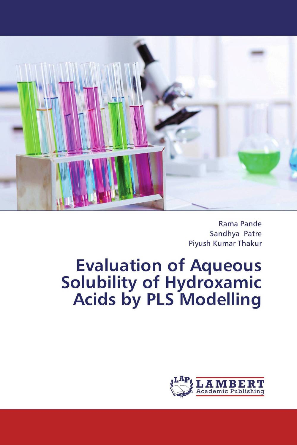 Evaluation of Aqueous Solubility of Hydroxamic Acids by PLS Modelling evaluation of pile failure mechanism by piv method