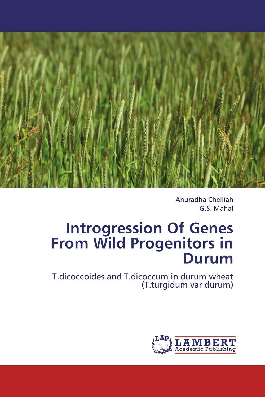 Introgression Of Genes From Wild Progenitors in Durum genetic variability in durum wheat genotypes