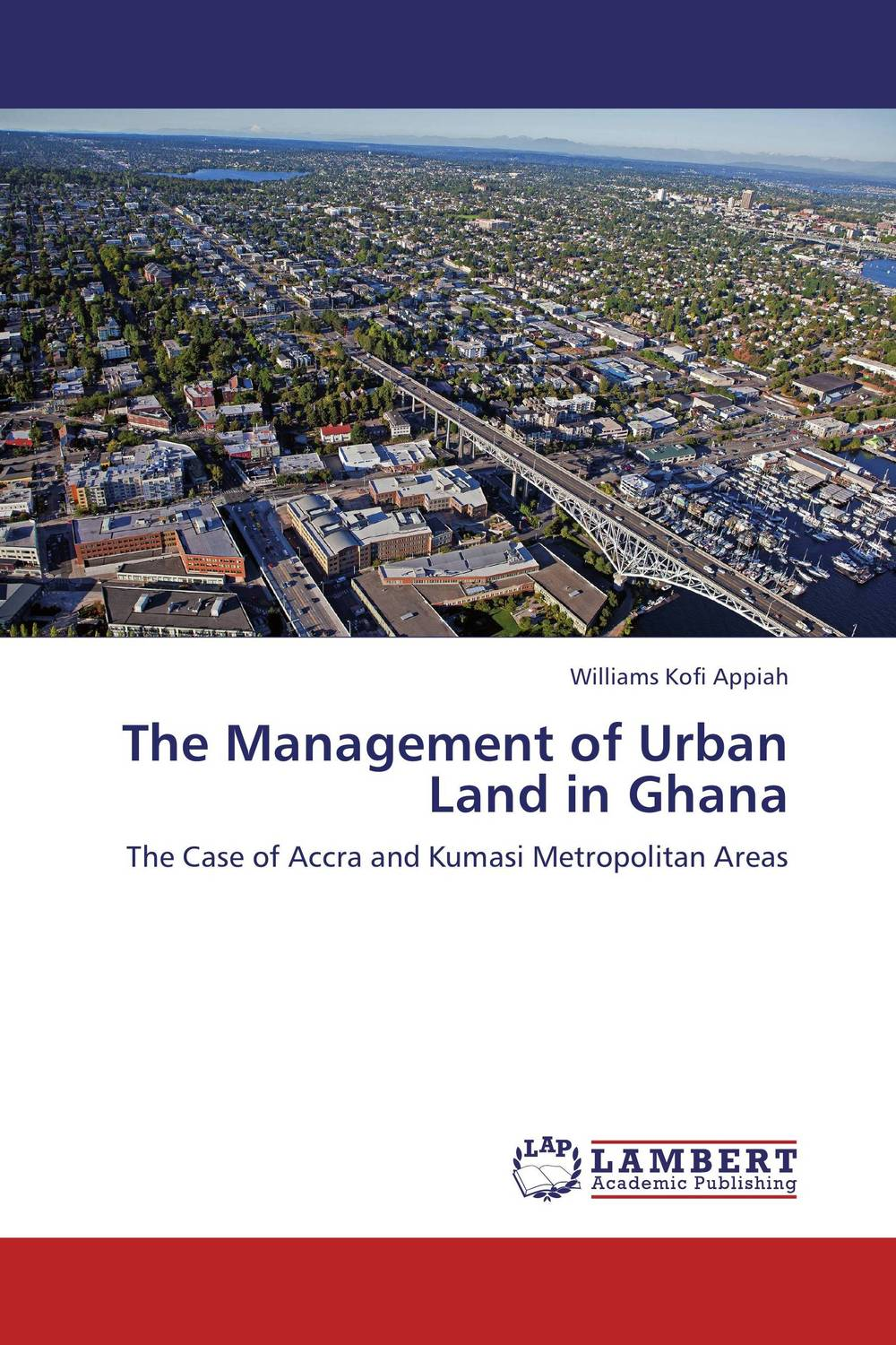 The Management of Urban Land in Ghana manuscript found in accra