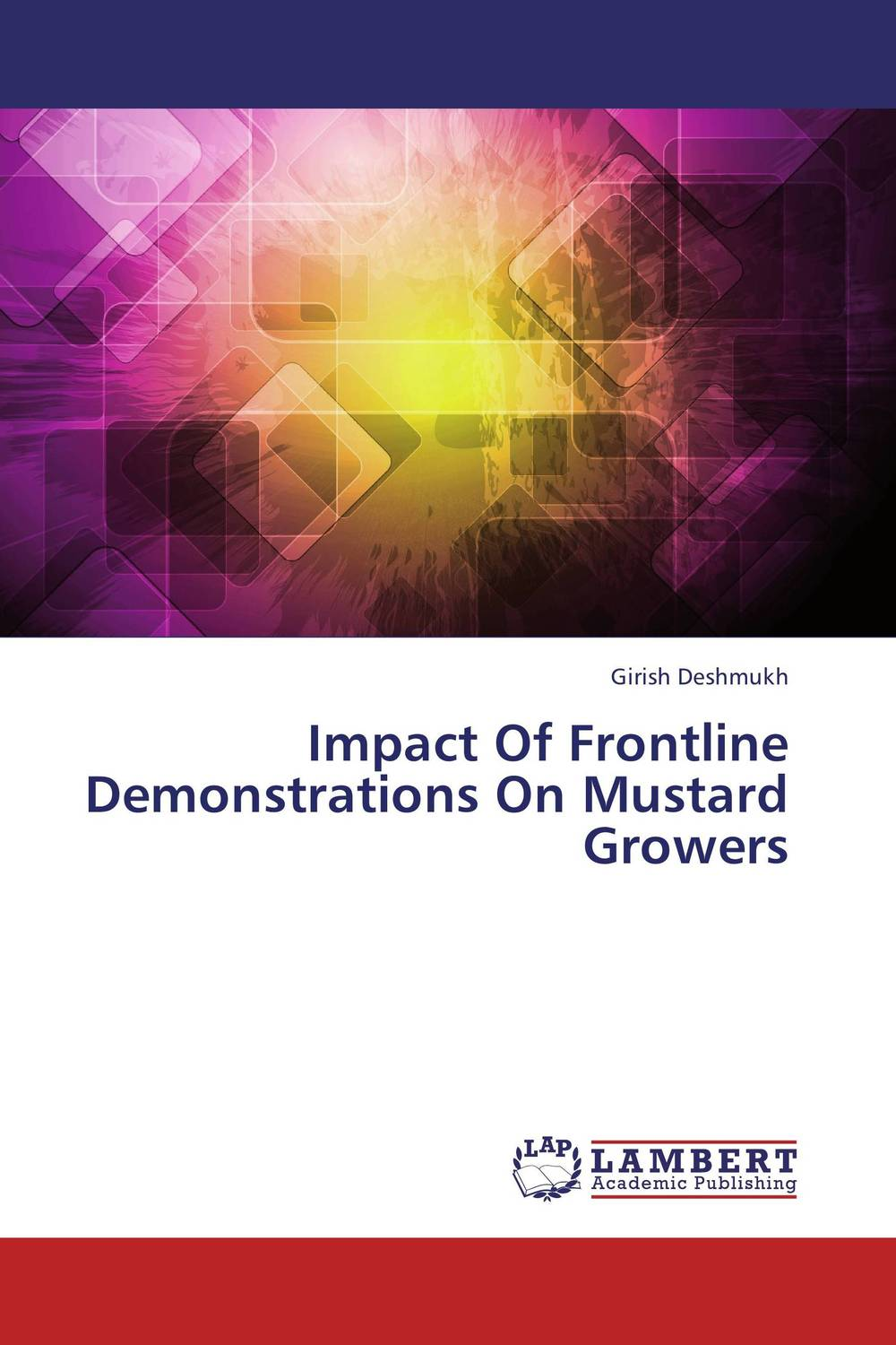 Impact Of Frontline Demonstrations On Mustard Growers subodh kumar and rakesh kumar response of organic nutrition and nitrogen on mustard brassica juncea