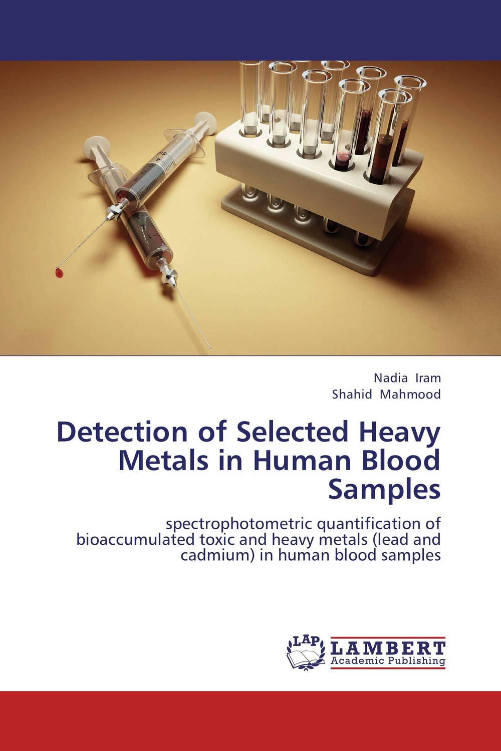 Detection of Selected Heavy Metals in Human Blood Samples high quantity medicine detection type blood and marrow test slides