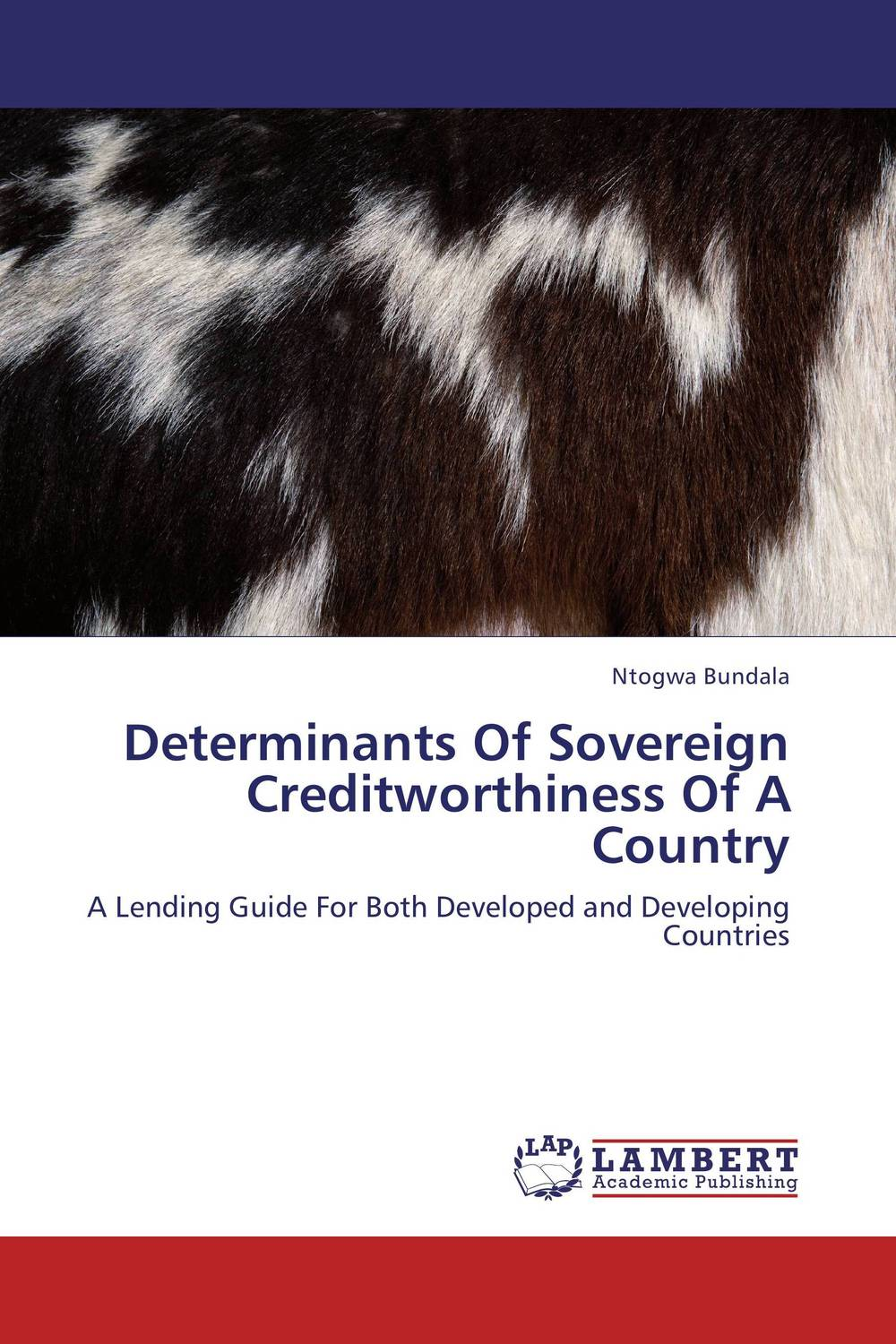Determinants Of Sovereign Creditworthiness Of A Country the credibility of credit ratings
