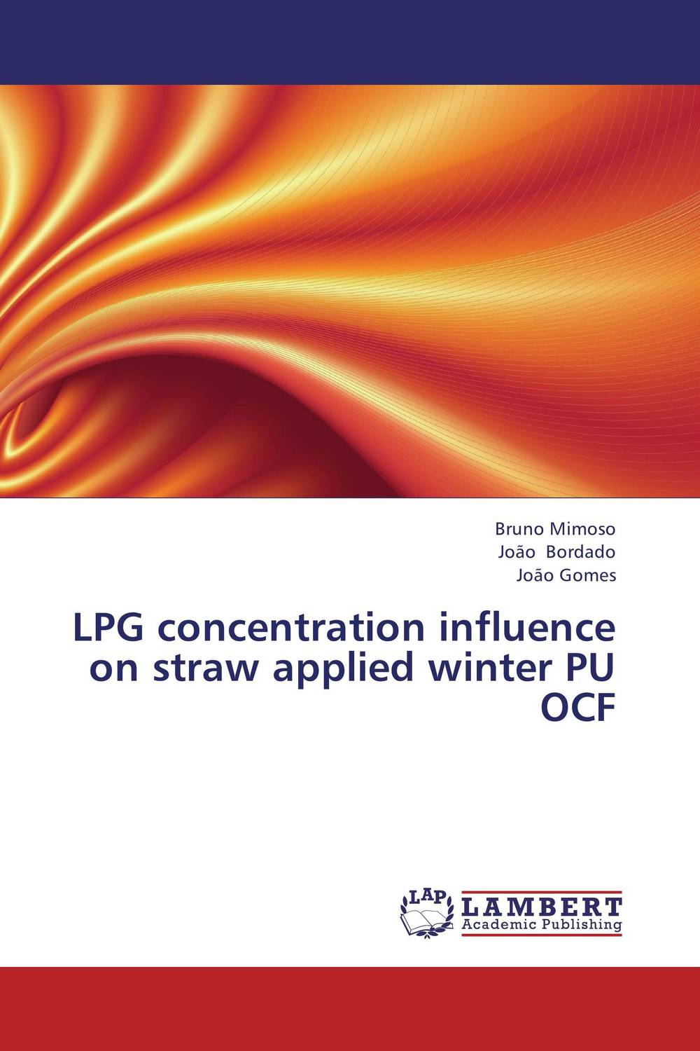 LPG concentration influence on straw applied winter PU OCF