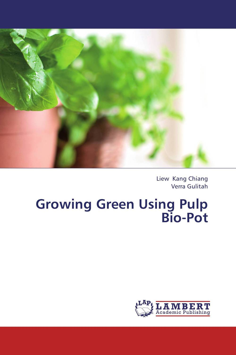 Growing Green Using Pulp Bio-Pot spring in the garden flowers and seedlings