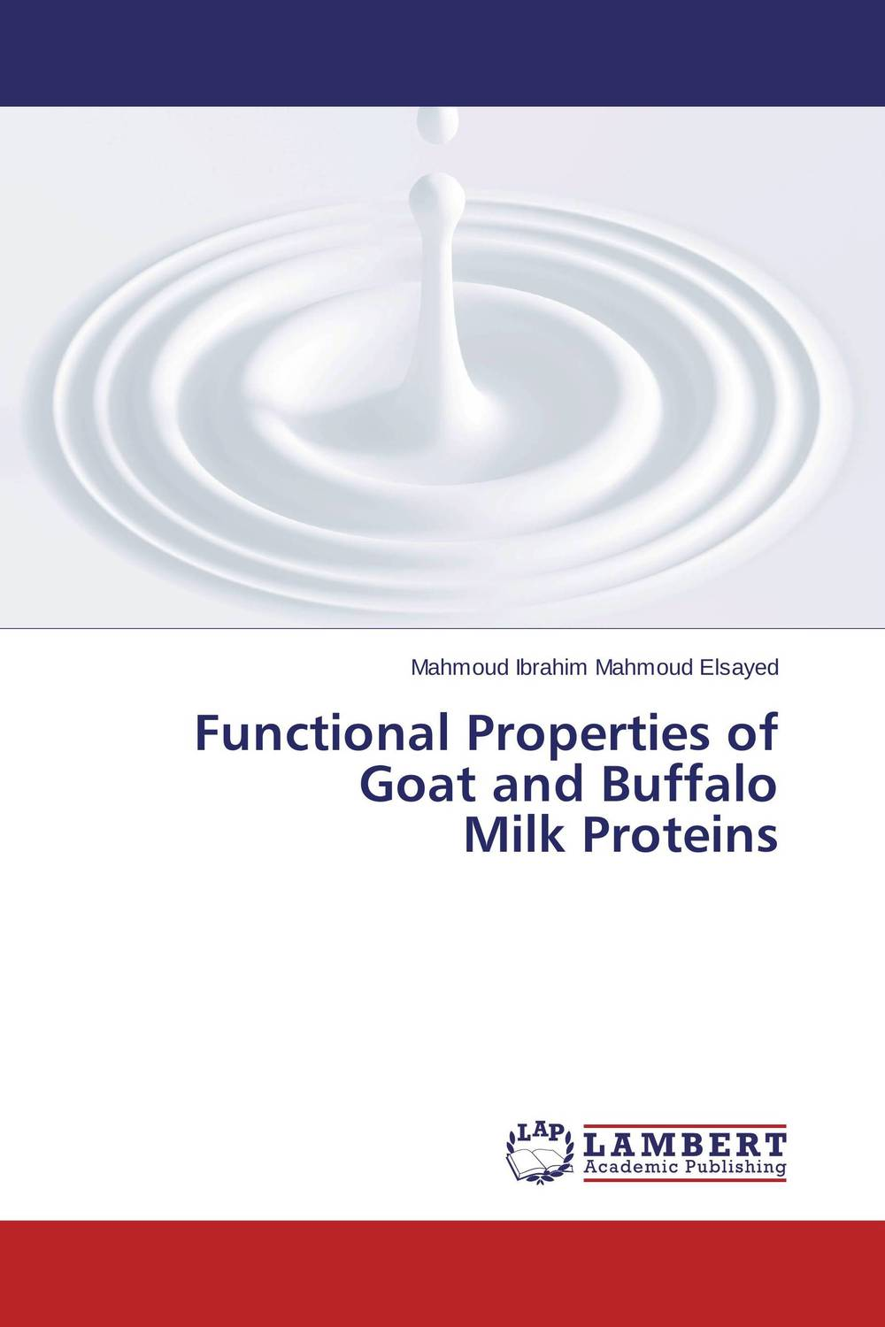 Functional Properties of Goat and Buffalo Milk Proteins