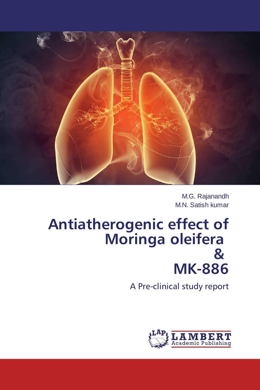 Antiatherogenic effect of Moringa oleifera & MK-886 herbal extract powder moringa oleifera leaf powder capsule 500mg 800pcs