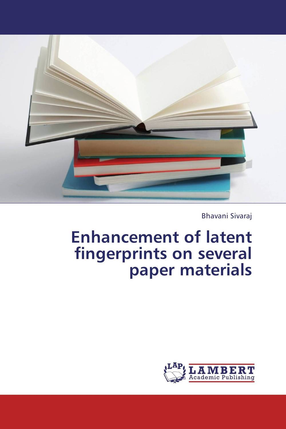 Enhancement of latent fingerprints on several paper materials