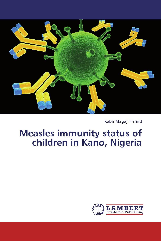 Measles immunity status of children in Kano, Nigeria measles immunity status of children in kano nigeria