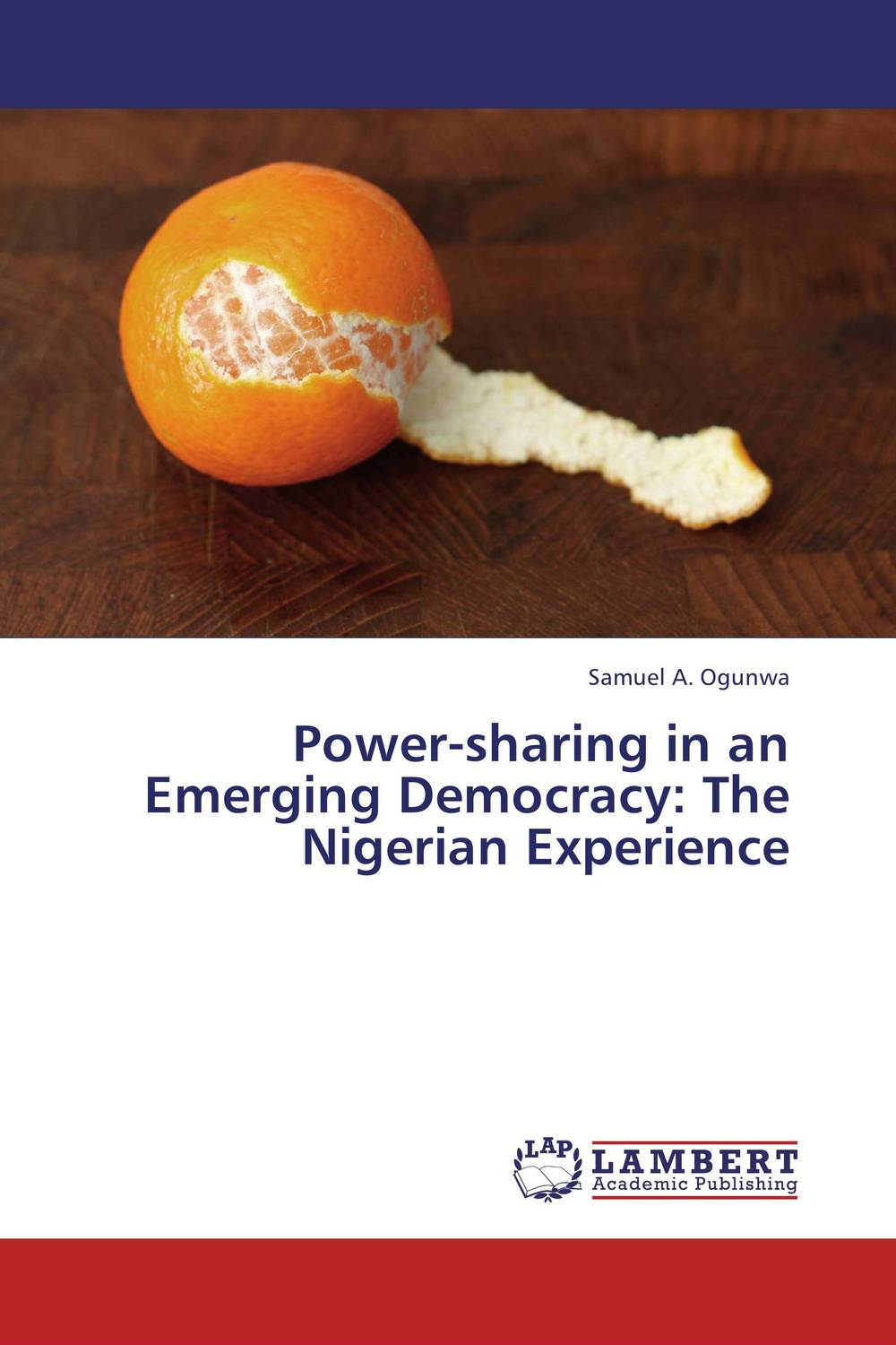 Power-sharing in an Emerging Democracy: The Nigerian Experience democracy in america nce