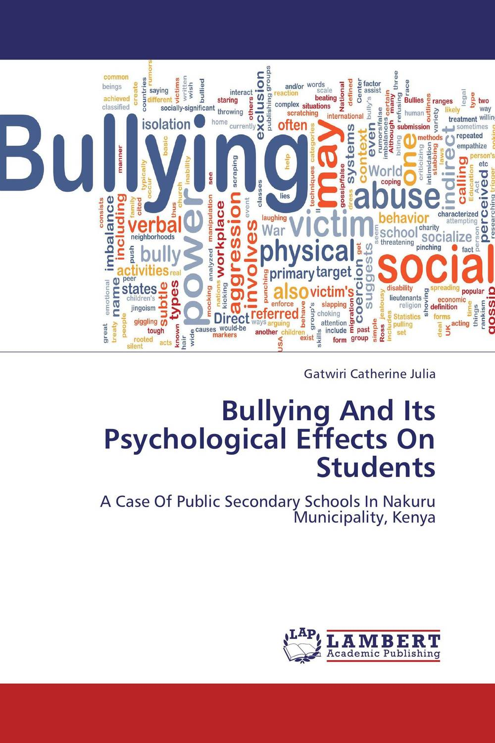 Bullying And Its Psychological Effects On Students  fritz ilongo workplace bullying as psychological violence in tertiary institutions