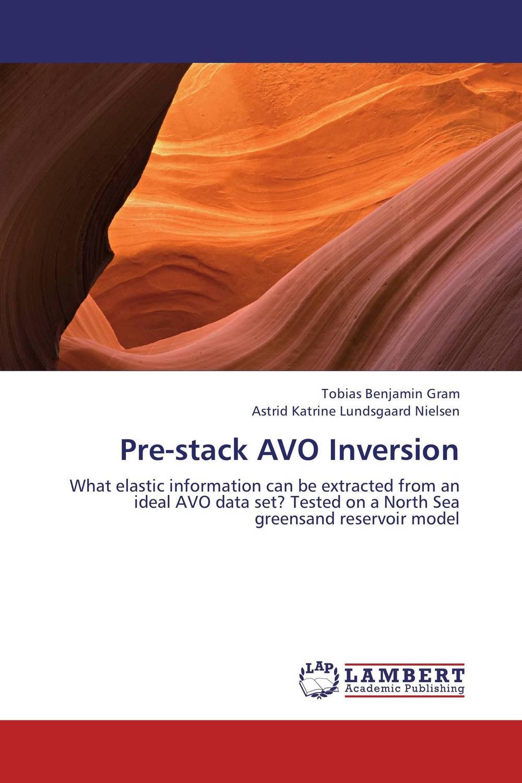 Pre-stack AVO Inversion рюкзак velocity 12