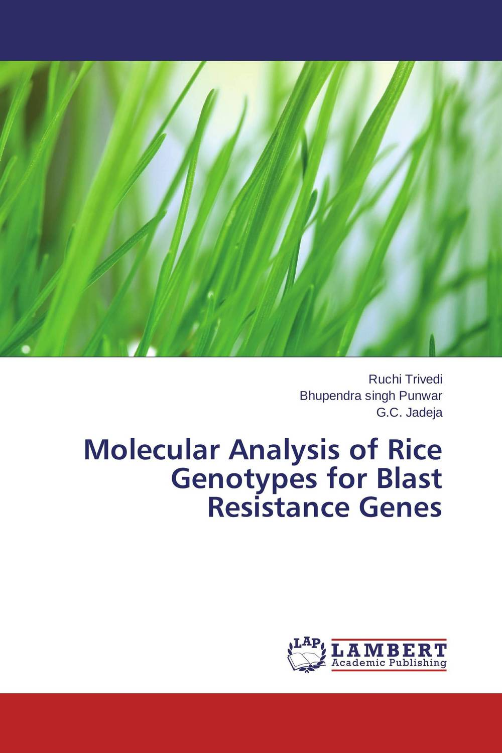 Molecular Analysis of Rice Genotypes for Blast Resistance Genes eman ibrahim el sayed abdel wahab molecular genetic characterization studies of some soybean cultivars