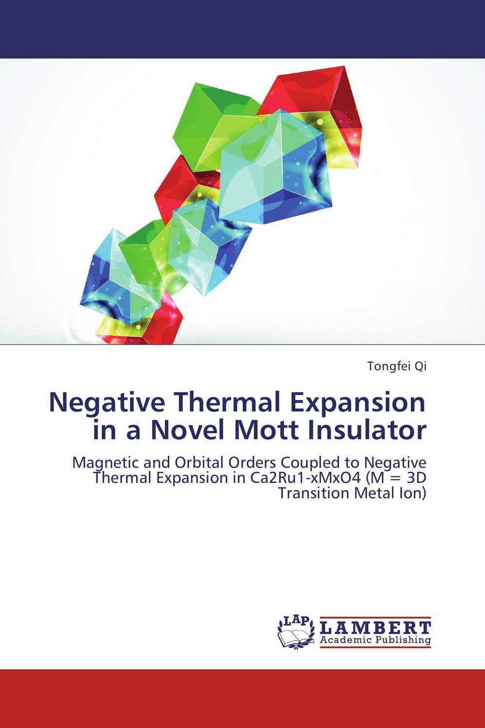 Negative Thermal Expansion in a Novel Mott Insulator the lonely polygamist – a novel