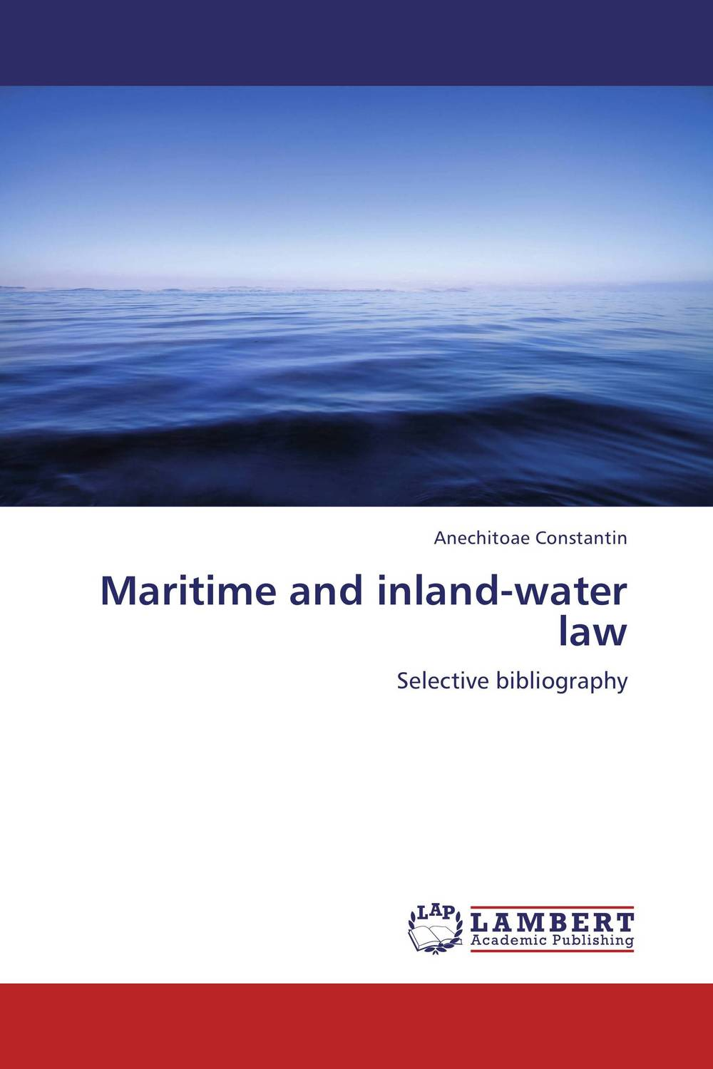 Maritime and inland-water law maritime safety
