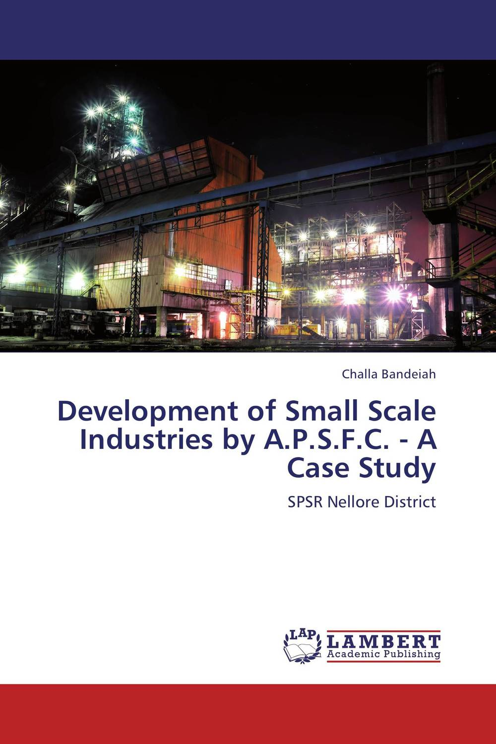 Development of Small Scale Industries by A.P.S.F.C. - A Case Study development of a computational interface for small hydropower plant