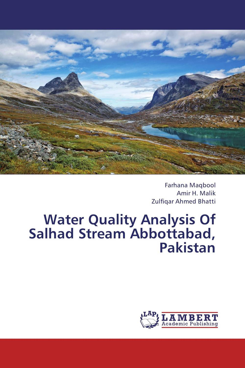 Water Quality Analysis Of Salhad Stream Abbottabad, Pakistan streams of stream classifications