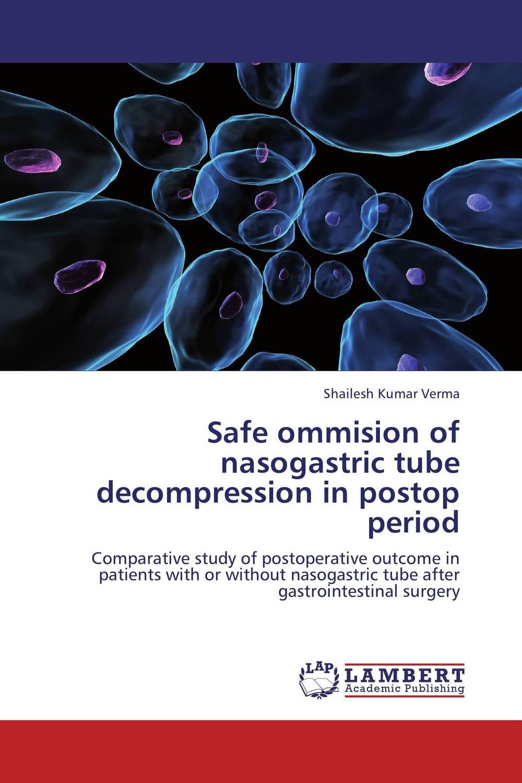 Safe ommision of nasogastric tube decompression in postop period psychiatric disorders in postpartum period