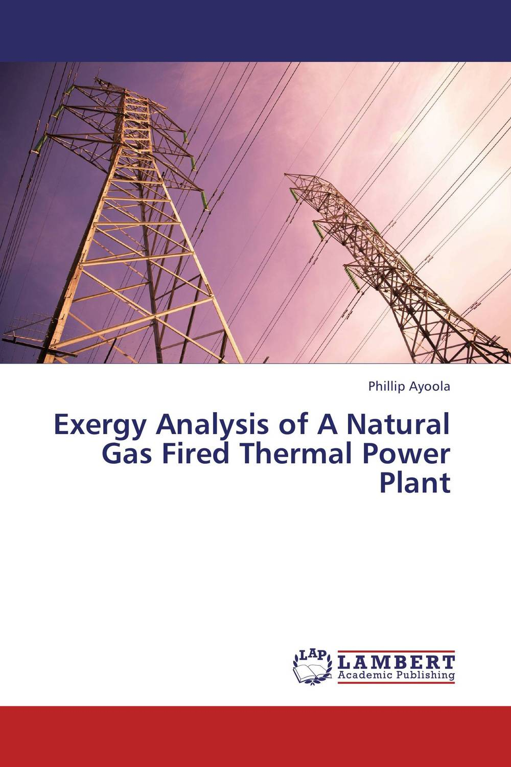 Exergy Analysis of A Natural Gas Fired Thermal Power Plant practical approach to exergy and thermoeconomic analyses of industrial processes