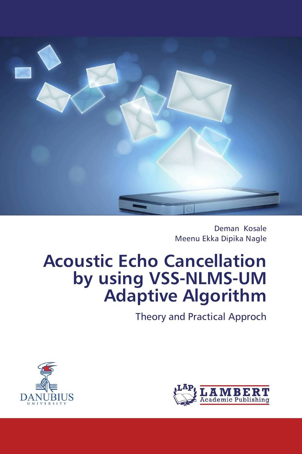 Acoustic Echo Cancellation by using VSS-NLMS-UM Adaptive Algorithm the black echo