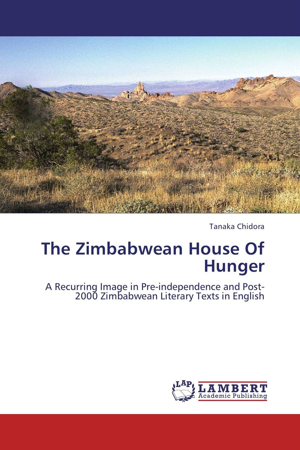 The Zimbabwean House Of Hunger the stylistic identity of english literary texts