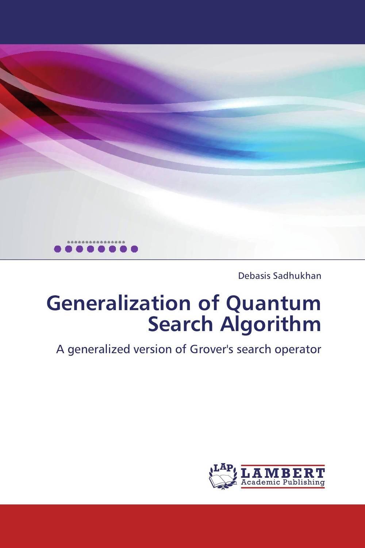 Generalization of Quantum Search Algorithm affair of state an