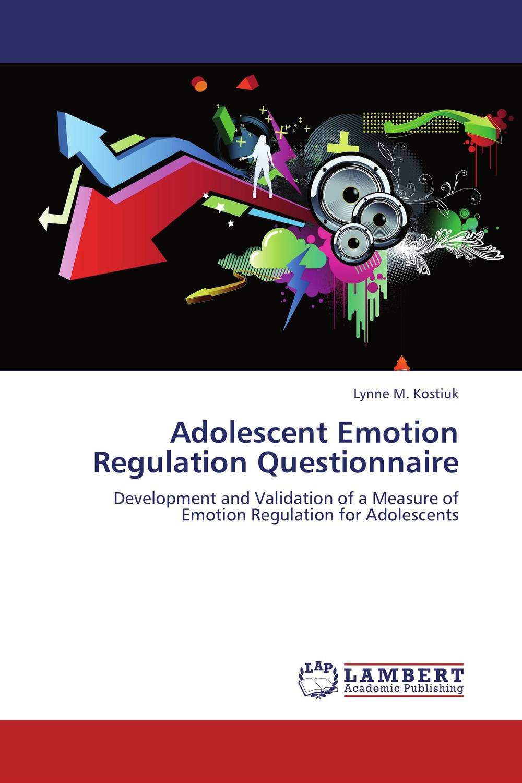 Adolescent Emotion Regulation Questionnaire risk regulation and administrative constitutionalism