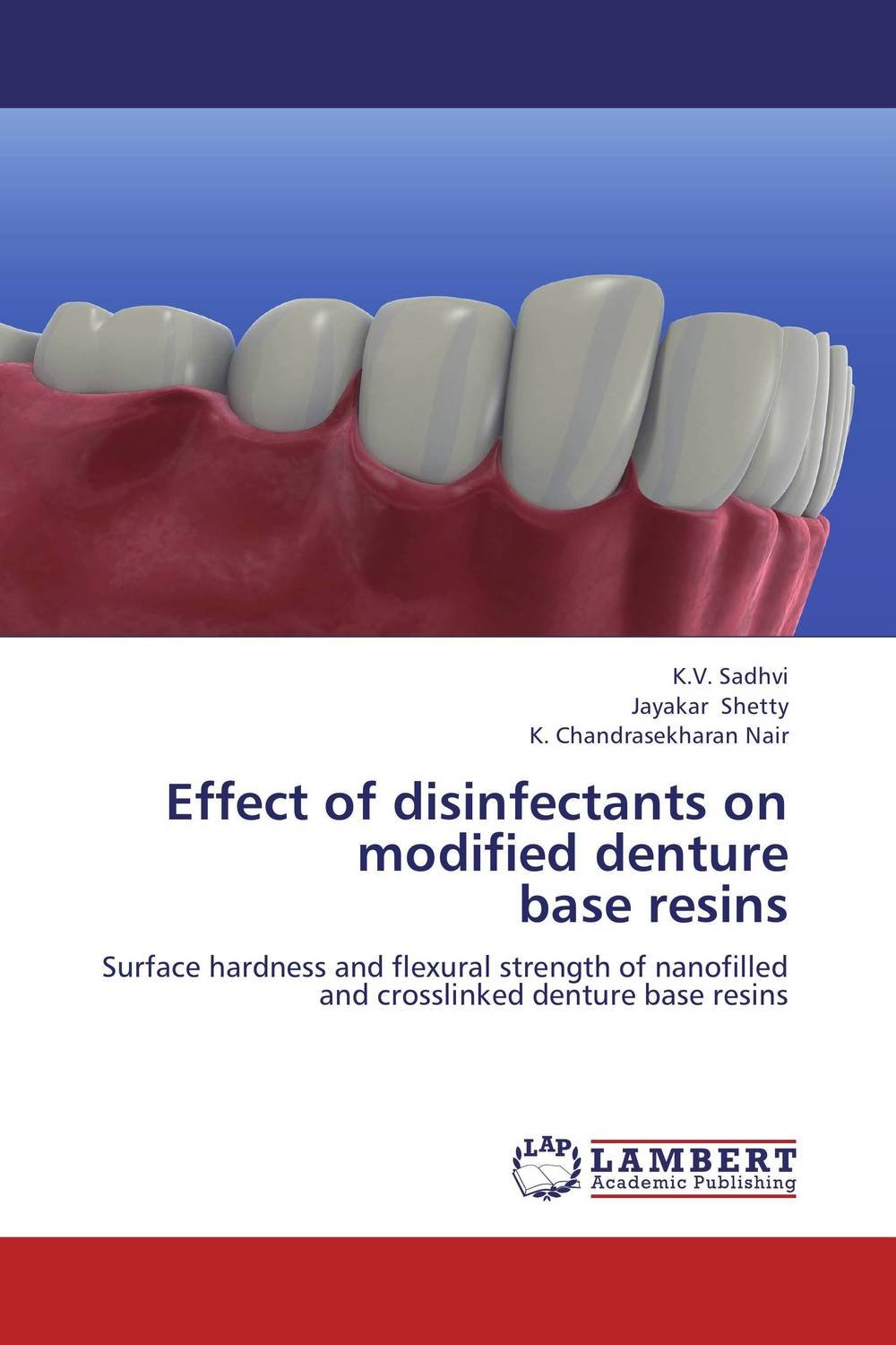 Effect of disinfectants on modified denture  base resins surfactants effect on hardness of dental stone and investment material
