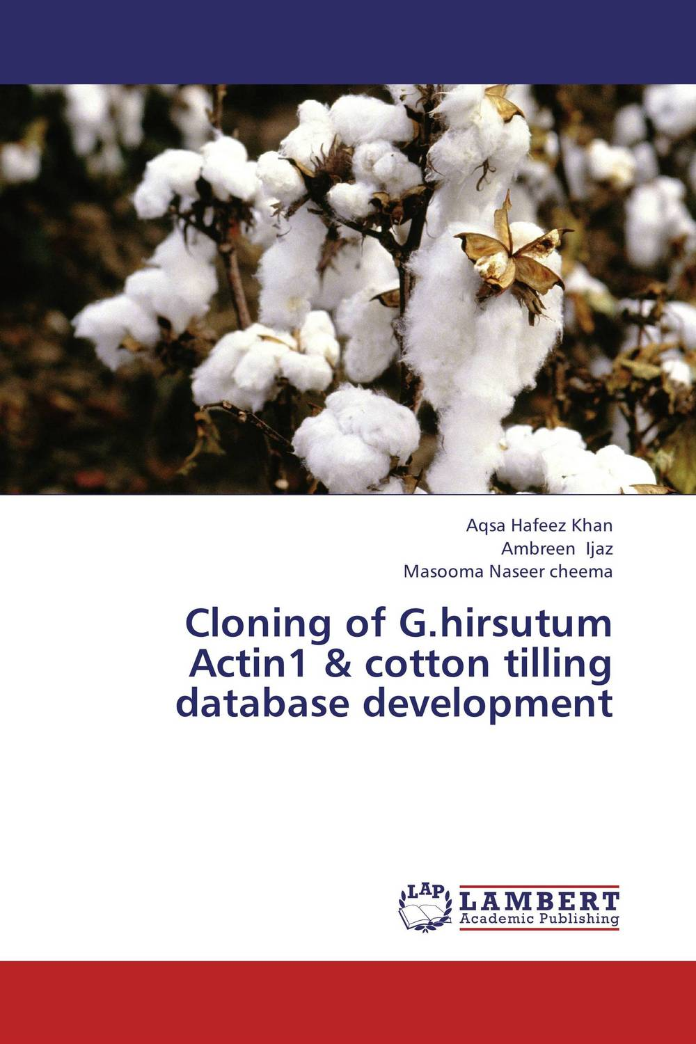 Cloning of G.hirsutum Actin1 & cotton tilling database development rakesh singh amit kumar singh and g k garg cloning of glna from bacillus brevis