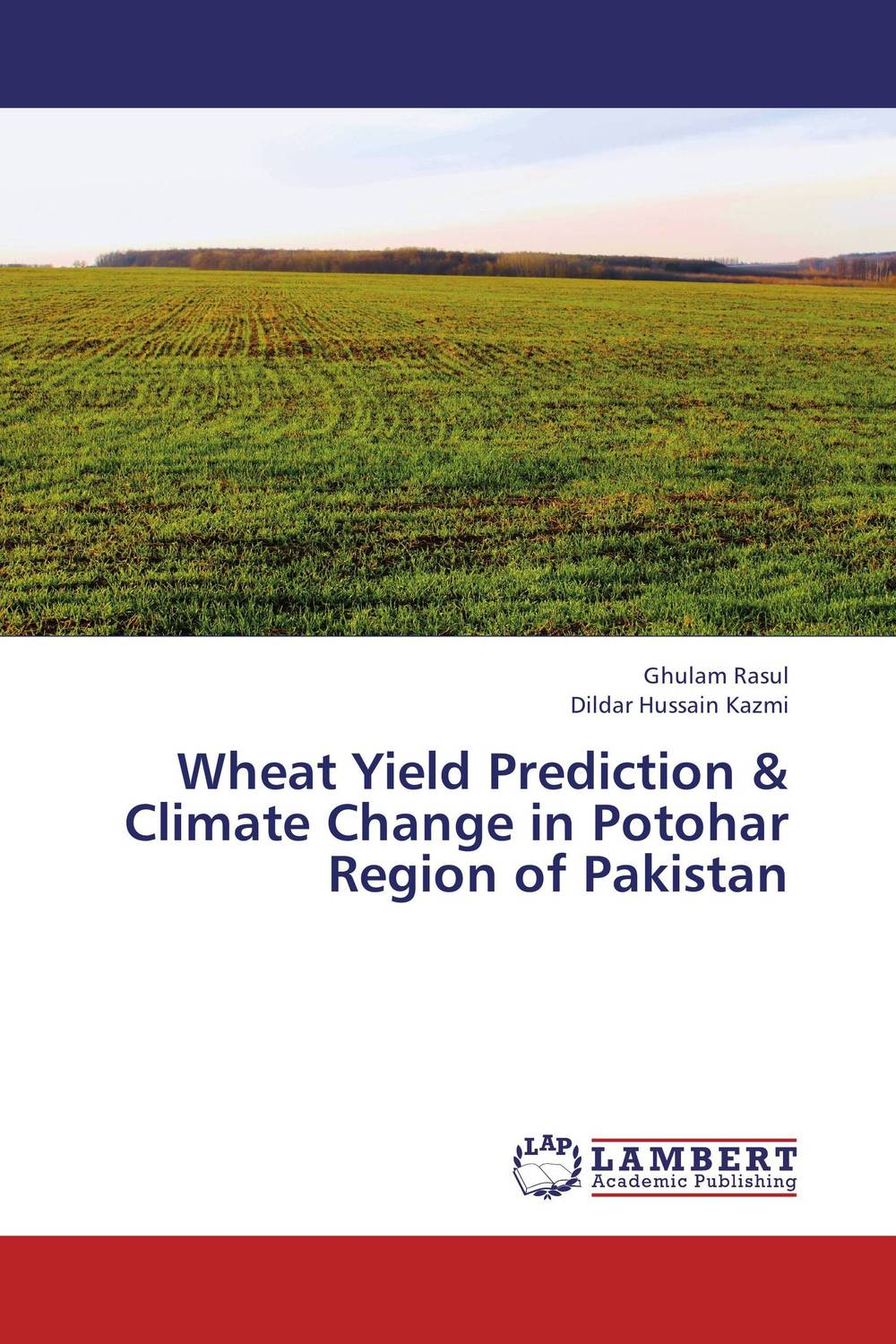Wheat Yield Prediction & Climate Change in Potohar Region of Pakistan wheat genotypes for irrigated and rainfed area using stress indices