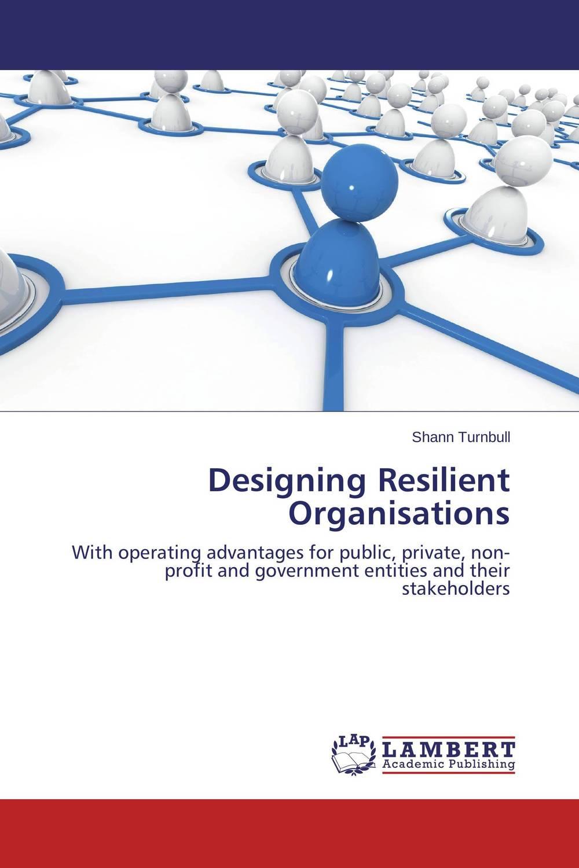 Designing Resilient Organisations цена