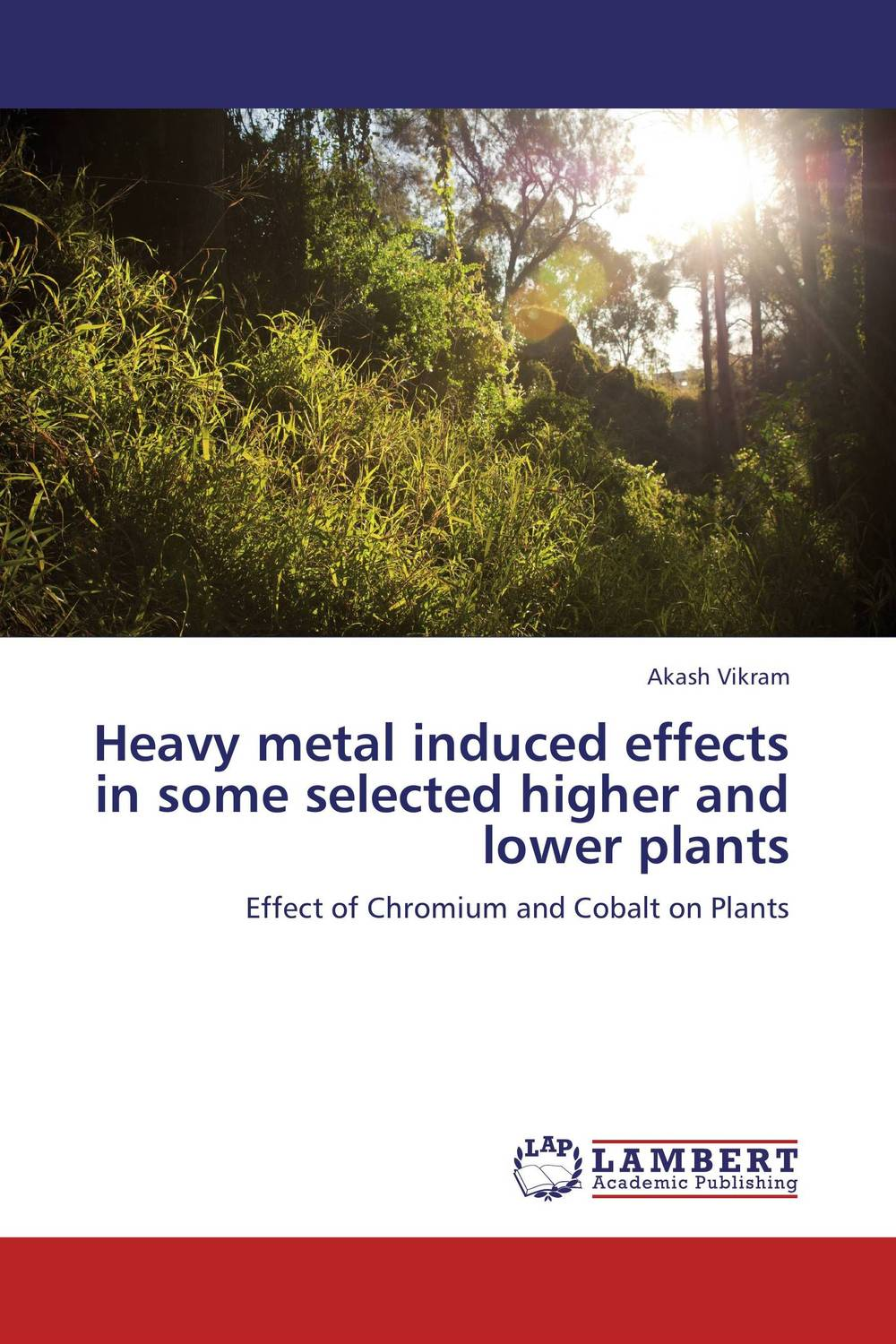 Heavy metal induced effects in some selected higher and lower plants effect of air pollutants on some common plants