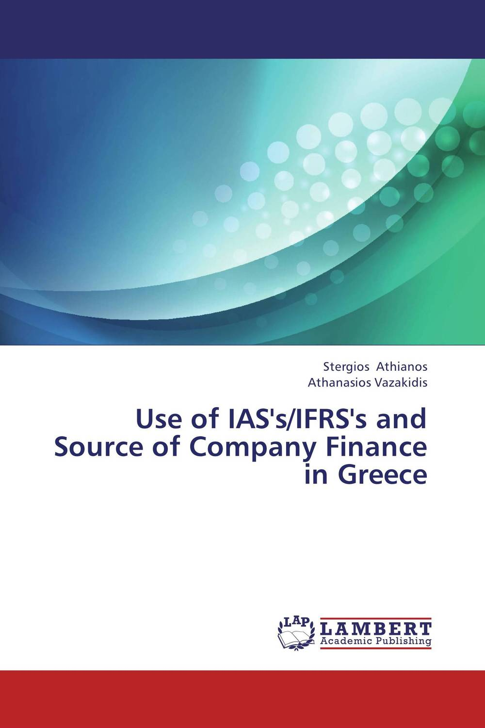 Фото Use of IAS's/IFRS's and Source of Company Finance in Greece finance and investments