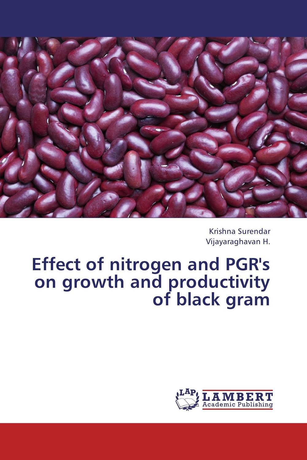 цена на Effect of nitrogen and PGR's on growth and productivity of black gram