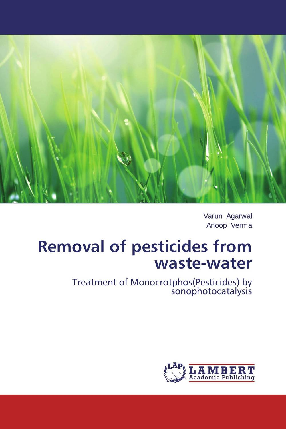 Removal of pesticides from waste-water seeing things as they are