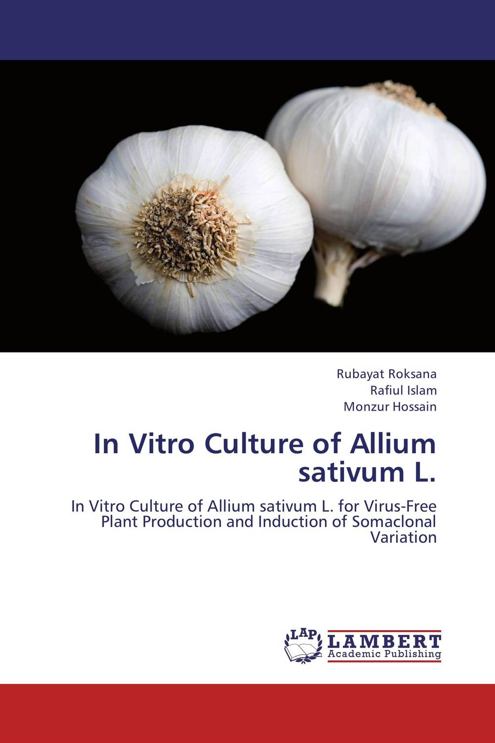 In Vitro Culture of Allium sativum L. бита kwb 1010 05
