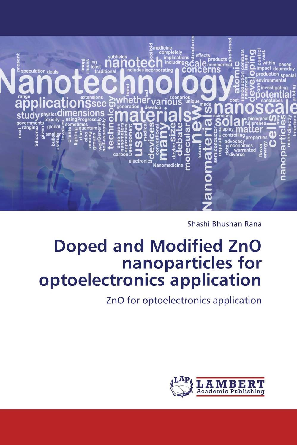 Doped and Modified ZnO nanoparticles for optoelectronics application ashish nautiyal and trilok chandra upadhyay vibrational pseudospin solutions of doped triglycine sulphate crystal