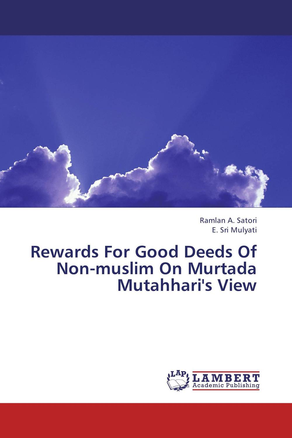 Rewards For Good Deeds Of Non-muslim On Murtada Mutahhari's View футболка для беременных there is only a good mother 00031 2015