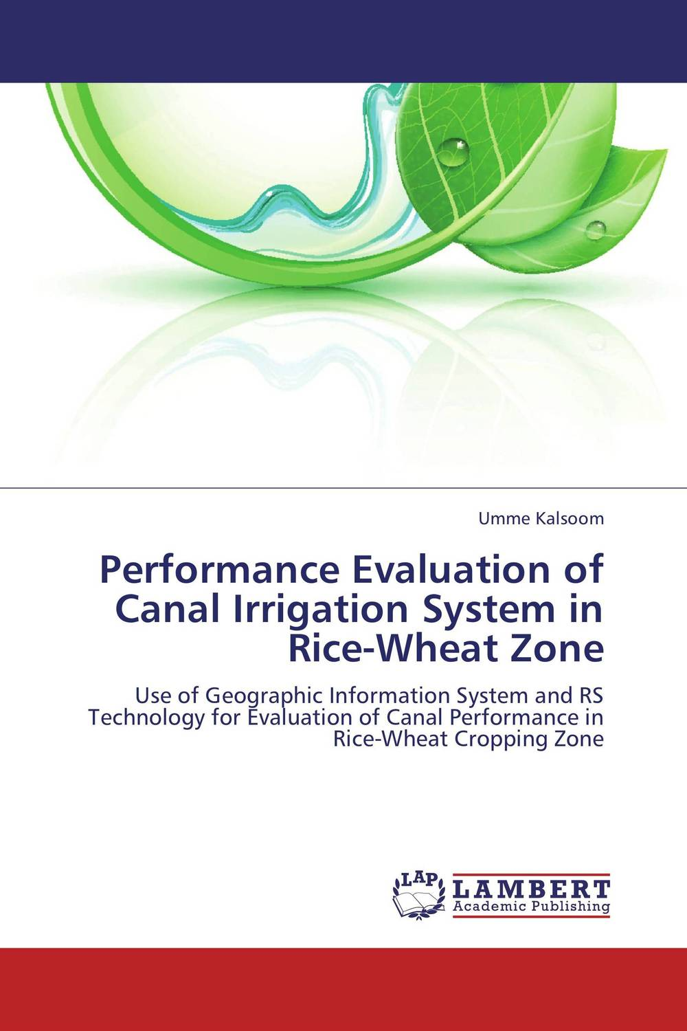 Performance Evaluation of Canal Irrigation System in Rice-Wheat Zone design and evaluation of microemulsion gel system of nadifloxacin
